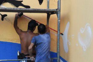 AKC-Gnezdo-izrada-murala